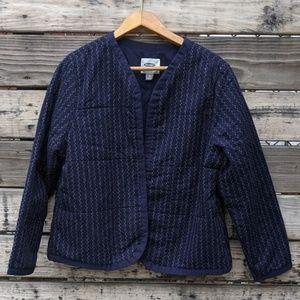 Old Navy Dark Blue Fall Jacket Size XL
